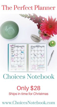 Learn more about the Choices Notebook, see the features and get a video tour by clicking through or visit www.ChoicesNotebook.com.