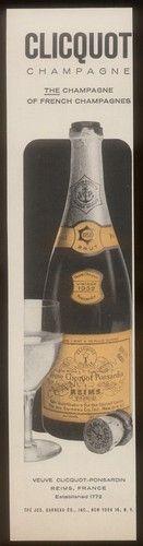 1958 Veuve Clicquot Brut Champagne