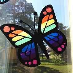 Fjärilar av silkespapper | Emma