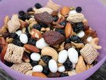 Pack a Smart Snack — Trail Mix recipe | Photo by Alison Lewis; Birmingham mag, June 2013 |