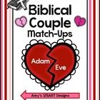A great Valentine activity for Christian classrooms or home! Match up these 18 biblical couples. Great for a classroom game or center. Includes: ...
