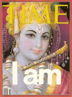 Lord Krishna made the cover of a 2008 Time magazine