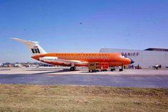 Braniff International BAC-111 in 1962