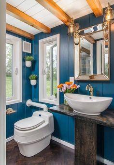 Bathroom - Escher by New Frontier Tiny Homes