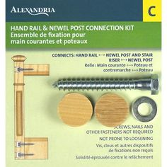 Alexandria Moulding   Rail And Post Fastener   SP057 00C   Home Depot Canada