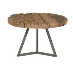 Magnolia Timber Round Coffee Table | Wayfair