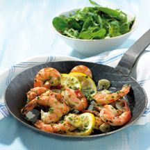 Weight Watchers - Scampi's met knoflook - 6pt