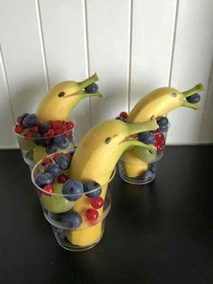 Kinder sollten mehr Obst essen! 13 Fröhliche Obstkreationen für die Kleinen! - Seite 3 von 13 - DIY Bastelideen
