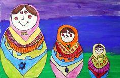 The smARTteacher Resource: Matryoshka Doll painting