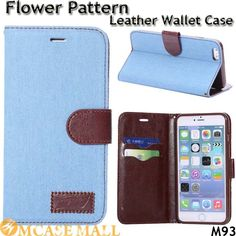 Jeans Style Flip Leather Wallet Case For iPhone 6 Plus Stand Card Holder Cover Phone Case 5.5 Inch For iPhone6 Plus, Accept the payment method via Paypal, Escrow, Credit Card, etc...