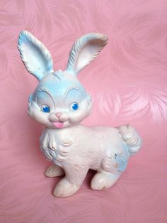 Vintage  Squeaky  Easter Bunny