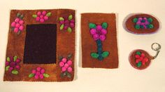 Tufted Set 2003 - Lena Adam Beadwork, Nativity, Gallery, Frame, Crafts, Collection, Home Decor, Picture Frame, Manualidades