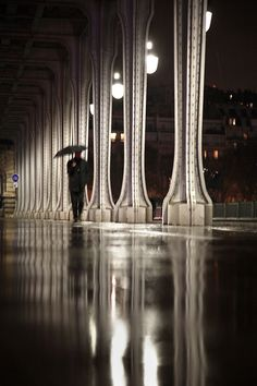 Paris in the rain   Christophe Jacrot