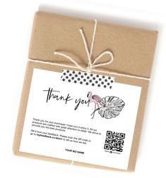 As a pink flamingo stands out, so does your business. Get CraftyCode thank you cards for your business. Packaging Supplies, Jewelry Packaging, Brand Packaging, Packaging Design, Branding Design, Happy Piano, Greeting Words, Business Thank You Cards, Pretty Packaging