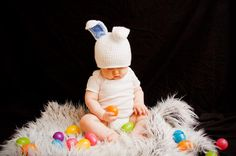 612 Month Soft Blue and White Baby Boy Photo by PreciousPropsShop, $22.00