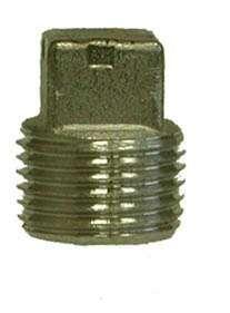 Stainless Steel Fittings - 304 Stainless Steel Pipe Fittings - Square Head Plugs Stainless Steel Fittings, Stainless Steel Hose, Plugs, Gold Rings, Corks