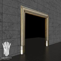 New trends in luxury interior design – This is how to really make a grand entrance. Golden or silver door frames with Swarovski crystals by Kny Design www.kny-design.com Door Frames, Grand Entrance, Luxury Interior Design, Lighting Solutions, Glass Design, Lighting Design, Swarovski Crystals, Construction, Trends