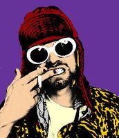 deviantART: Kurt Cobain Pop Art ~ALT0