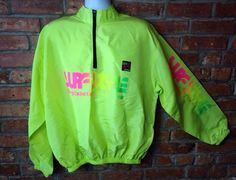 95019464d9d8 Vintage SURF STYLE 80s 90s Iridescent Pullover Windbreaker Jacket Surfstyle