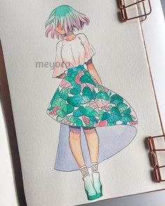 """33k Likes, 62 Comments - meyoコ (@meyoco) on Instagram: """" (art tools info: @pearlescentpink)"""""""