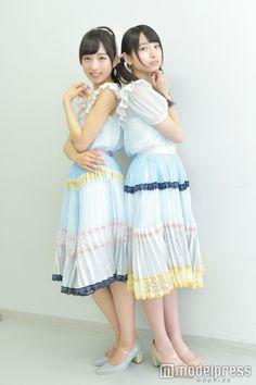 """(画像6/7)AKB48小栗有以&久保怜音""""ふわふわワールド""""な2人を直撃!久保は吉田朱里に注目中?モデルプレスインタビュー<AKB48グループ選抜総選挙企画> Team 8, Pose Reference, Tulle, Flower Girl Dresses, Kawaii, Poses, Summer Dresses, Wedding Dresses, Pretty"""