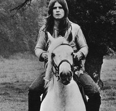 Mr. Crowley, won't you ride my white horse.  Oh, Mr. Crowley, it's symbolic of course