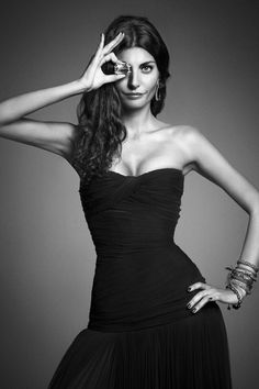 """Giovanna Battaglia - Faraone Menella """"Muses"""" 10th Anniversary Lorenzo Bringheli"""
