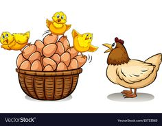Find Chicken Eggs Basket Illustration stock images in HD and millions of other royalty-free stock photos, illustrations and vectors in the Shutterstock collection. Thousands of new, high-quality pictures added every day. Chicken Illustration, Egg Basket, Chicken Eggs, Adobe Illustrator, Vector Free, Royalty Free Stock Photos, Bunny, Anime Artwork, Animals