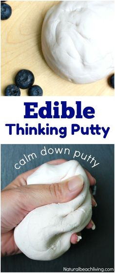 How to Make Edible Thinking Putty – Easy 2 Ingredient Recipe