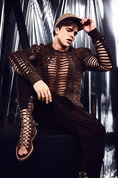ATTITUDE UK River Viiperi by Jenny Brough - For more like this follow us or…