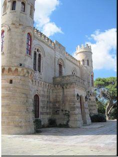 Tal-Virtu` Castle Rabat Malta front facade