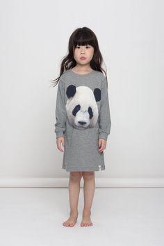 POPUPSHOP NIGHT DRESS PANDA