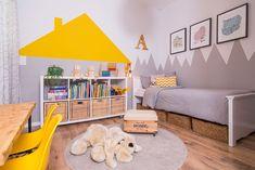 קחו סיפור על סוכריות צבעוניות, טבע מתפרץ או חלל חיצון, תרגמו אותו לפריטים, קווים… Kids Room Design, Kids Decor, Home Decor, Fashion Room, Kids Bedroom, Kids Rooms, Boy Room, Room Inspiration, Toddler Bed