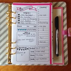 90 Days Large/A5 DAILY PLANNER INSERTS Day by kaelisAccessories