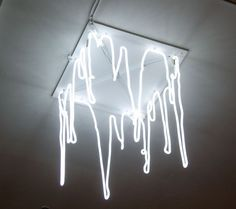 art noeveau, cave like, Neon drippy light - Kori Newkirk, Studio Museum - Custom Work by Lite Brite Neon Neon Aesthetic, White Aesthetic, My New Room, My Room, Lite Brite, All Of The Lights, The Doors, Luz Led, Light Installation