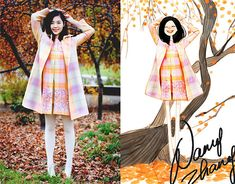 Gold autumn impressions. (by Nancy Zhang) http://lookbook.nu/look/2711967-Gold-autumn-impressions