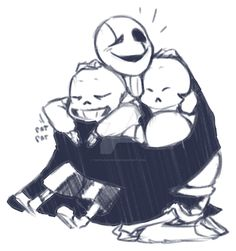 Goopy dad loves hugs by OHItsJULY69x on DeviantArt
