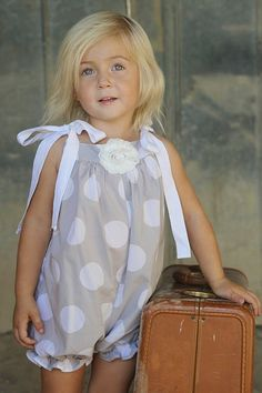 How to make a romper out of a pillow case! I just love this idea!