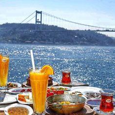 Serpme kahvalti (breakfast) @ Mado #Emirgan #Istanbul #Turkey