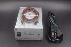 TeraDak DC-30W 10V / 2A Athena USB digital interface linear power supply #Affiliate