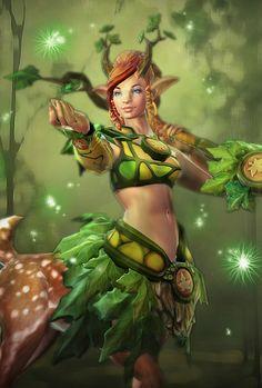 #DOTA Sentinel Intelligence_Enchantress (Aiushtha)