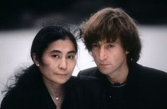 """Yoko and John in Central Park. """"Reflecting on the images now, I still find them all very beautiful, but the photos in Central Park are particularly special for me,"""" Shinoyama says."""