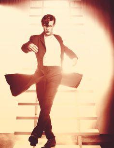 Matt Smith...love the coat!