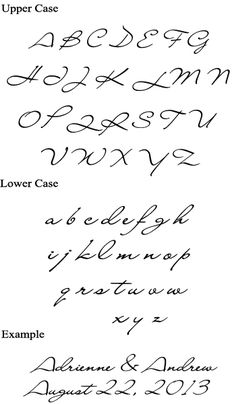Simple and elegant alphabet with dramatic scale. Great samples for improving your signature. Alphabet, Christmas Ships, Faux Brick Walls, Handwriting Styles, Pub Signs, Wine Tote, Penmanship, Girls Jewelry, Pearl Bracelet