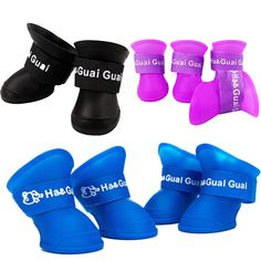 Item Type: Shoes for Small Dogs Material: PU Quantity: 4 pcs Features: Anti Slip, Reflective, Breathable, Small Dogs Size Info: Size (cm) Foot Length Foot Width S M 5 4 L Funny Dogs, Cute Dogs, Dog Booties, Cat Supplies, Boots Online, Westies, Little Dogs, Hunter Boots, Small Dogs