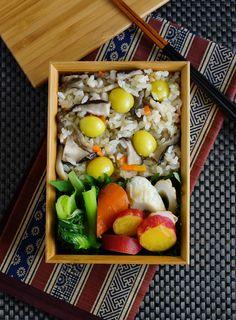 Takikomi Gohan Bento 秋の炊き込みごはん弁当