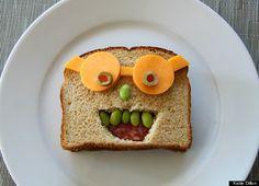 sandwich faces