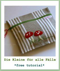 Como fazer a bolsinha --gretelies: Die Kleine für alle Fälle ...