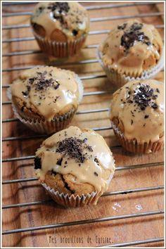 Muffins au café & pépites de chocolat, glaçage expresso – Mes brouillons de cuisine
