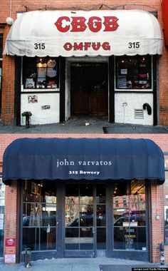 CBGB's has been replaced by a John Varvatos boutique. I never went in but I passed it all the time.